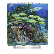 Lobster Feast Re0019 Shower Curtain