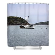 Lobster Fishing  Shower Curtain