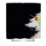 Lobster Marker Shower Curtain