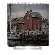 Lobster Shack - Rockport Shower Curtain