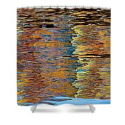 Lobster Trap Reflections Shower Curtain