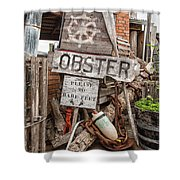 Lobster's Here Shower Curtain