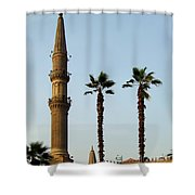 Local Cairo Mosque 02 Shower Curtain