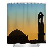 Local Cairo Mosque 03 Shower Curtain