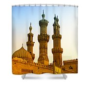 Local Cairo Mosque 05 Shower Curtain