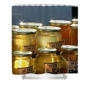 French Honey  Shower Curtain by France  Art