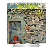 Location With A View Shower Curtain