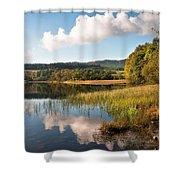 Loch Achray. Trossachs. Scotland Shower Curtain