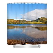 Loch Craignish Argyll Scotland Shower Curtain