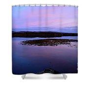 Loch Dunvegan At Sunrise Shower Curtain