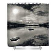 Loch Etive Shower Curtain by Dave Bowman