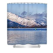Loch Lomond Panorama Shower Curtain by Antony McAulay
