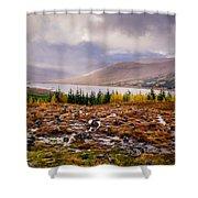 Loch Loyne Cairns Shower Curtain