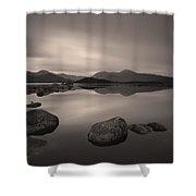 Loch Nah Achlaise Dawn Shower Curtain