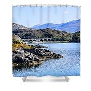 Loch Nan Uamh Viaduct 2 Shower Curtain