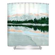 Loch Ossian Shower Curtain