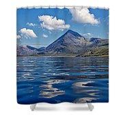 Loch Scavaig Shower Curtain
