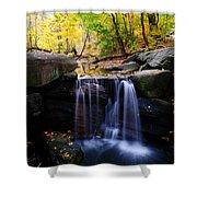 Loch Waterfall Shower Curtain