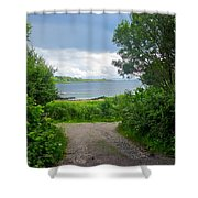 Lochaline Landscape Shower Curtain