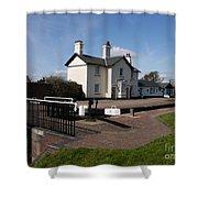 Lock Cottages Shower Curtain