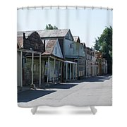 Locke Chinatown Series - Main Street - 1  Shower Curtain