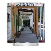 Locke Chinatown Series - Main Street - 7 Shower Curtain