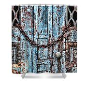 Locked And Chained Shower Curtain