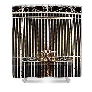 Locked Promenade Shower Curtain