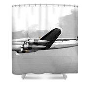 Lockheed Constellation Shower Curtain