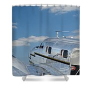 Lockheed Electra Jr. Shower Curtain