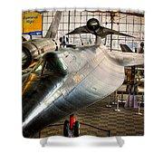 Lockheed M-21 Blackbird Shower Curtain