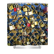 Locks Of Love Shower Curtain