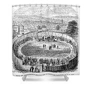 Locomotive, 1808 Shower Curtain