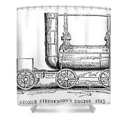 Locomotive, 1815 Shower Curtain
