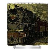 Locomotive 499  Shower Curtain