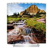 Logan Pass Shower Curtain