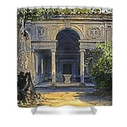 Loggia Of The Muses Shower Curtain