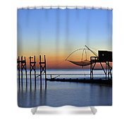 Loire-atlantique Shower Curtain