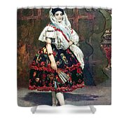 Lola Of Valencia Shower Curtain