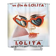 Lolita Poster Shower Curtain