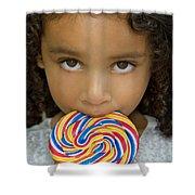 Lollipop Shower Curtain