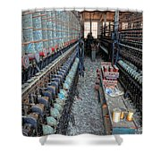 Lonaconing Silk Mill View Shower Curtain