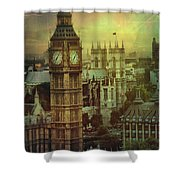 London - Big Ben Shower Curtain