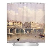 London Bridge, 1835 Shower Curtain