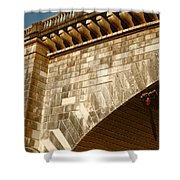 London Bridge Lake Havasu Az Shower Curtain