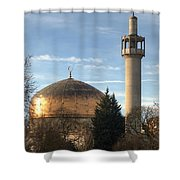 London Central Mosque Shower Curtain