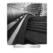 London City Hall. Shower Curtain