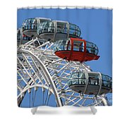 London Eye 5339 Shower Curtain