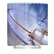 London Eye. Shower Curtain