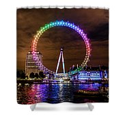 London Eye Pride Shower Curtain